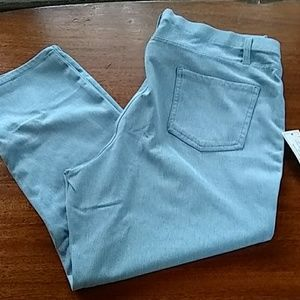 Women's NWT light denim jeggings